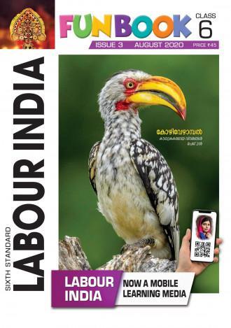 Labour India, Class - 6 ( Kerala Syllabus ), English Medium ( 8 Issues )